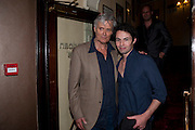 SIMON WILLIAMS TAM WILLIAMS, Yes, Prime Minister Press night re-opening at Apollo Theatre, Shaftesbury Avenue London<br /> <br />  , -DO NOT ARCHIVE-© Copyright Photograph by Dafydd Jones. 248 Clapham Rd. London SW9 0PZ. Tel 0207 820 0771. www.dafjones.com.