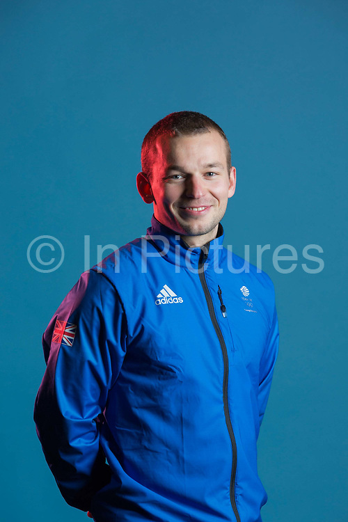 Murray Burchan during GB Park & Pipe Winter Olympic official Adidas kitting out day on 24th January 2018 in Stockport, United Kingdom.