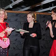 NLD/Amsterdam/20121129- Uitreiking Red's Hot Women Awards 2012, Winnares in de categorie Media Jessica Villerius