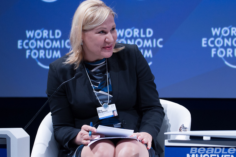 Nena Stoiljkovic, Vice-President, Blended Finance and Partnerships<br /> International Finance Corporation at the World Economic Forum on Africa 2017 in Durban, South Africa. Copyright by World Economic Forum / Greg Beadle