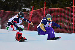 World Cup SBX, MONTAGGIONI Maxime, FRA, LUCHINI Jacopo, ITA at the 2016 IPC Snowboard Europa Cup Finals and World Cup