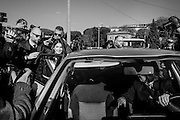 Virginia Raggi in visita al circo massimo<br /> 17 novembre 2016 . Daniele Stefanini /  OneShot<br /> <br /> Rome's mayor Virginia Raggi attends a press preview of the ancient Circus Maximus archaeological site after its restoration and its opening to the public, on November 16, 2016 in Rome. Daniele Stefanini /  OneShot