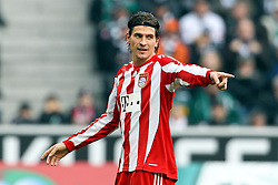 06.11.2010,  Borussia Park, Moenchengladbach, GER, 1.FBL, Borussia Moenchengladbach vs Bayern Muenchen, 11. Spieltag, im Bild: Mario Gomez (Muenchen #33)   EXPA Pictures © 2010, PhotoCredit: EXPA/ nph/  Mueller+++++ ATTENTION - OUT OF GER +++++