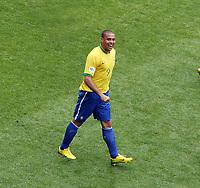 Photo: Chris Ratcliffe.<br /> Brazil v Ghana. Round 2, FIFA World Cup 2006. 27/06/2006.<br /> Ronaldo of Brazil.