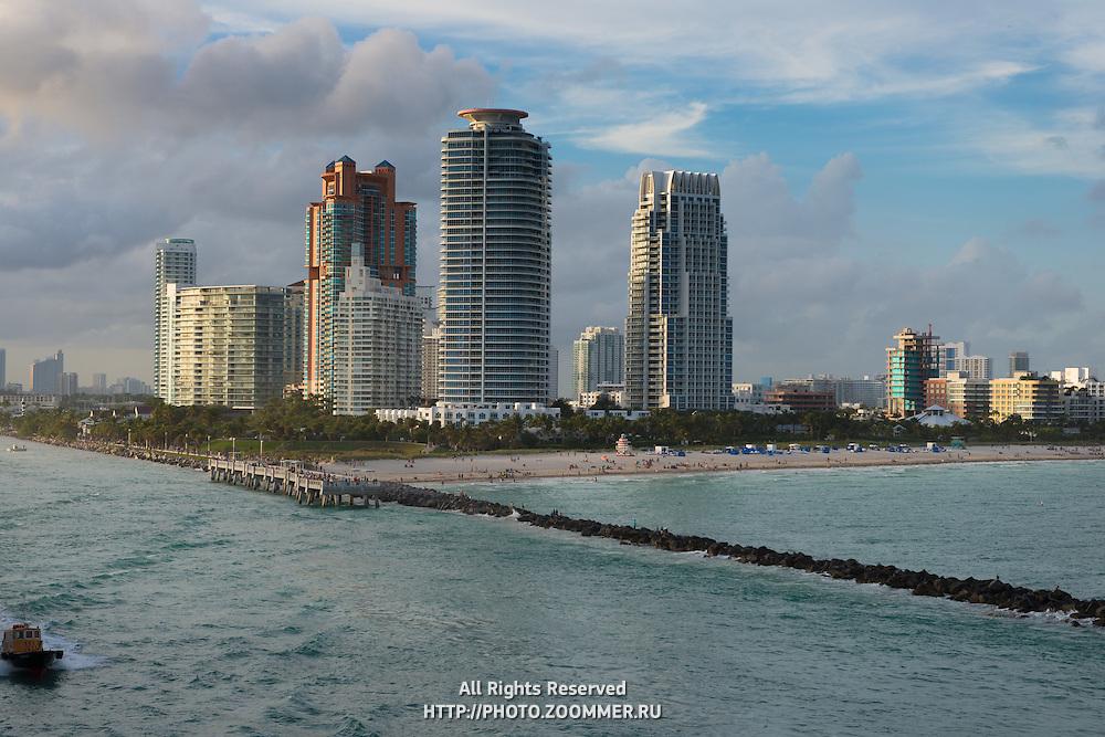 South Beach Miami Tall Condos