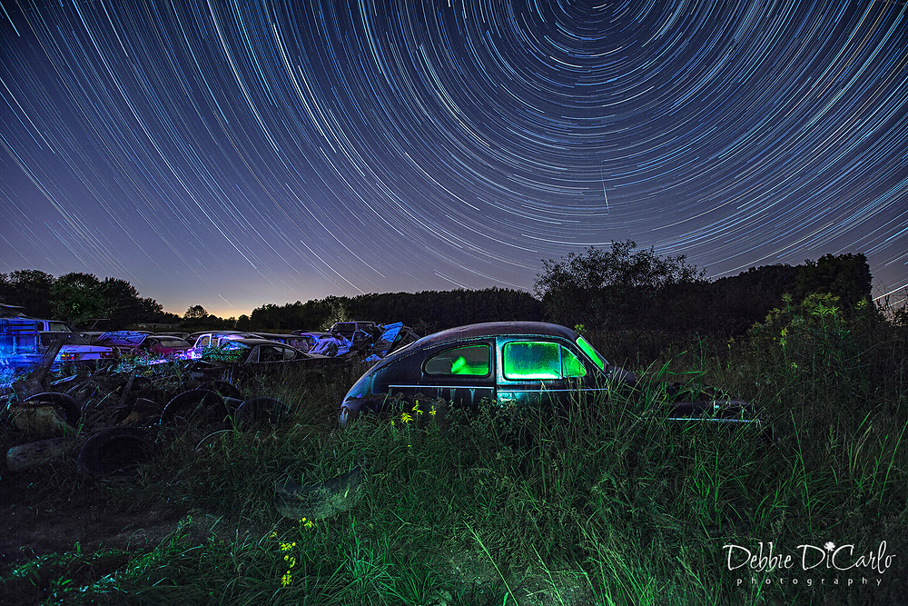Star Trails <br /> <br /> Contact me at: debbiedicarlo@gmail.com for sizes and pricing.