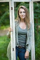 Lauren Barrett senior portrait session Gilford, NH.  © 2013 Karen Bobotas Photographer