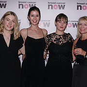 London, UK. 14th October, 2017. Guests attends London's Dorchester Hotel hosts Breast Cancer Campaign's Pink Ribbon Ball 2017.