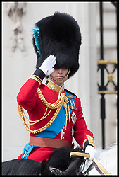 June 8, 2019 - London, London, United Kingdom - Image licensed to i-Images Picture Agency. 08/06/2019. London, United Kingdom. The Duke  of Cambridge at Trooping the Colour in London. (Credit Image: © Stephen Lock/i-Images via ZUMA Press)