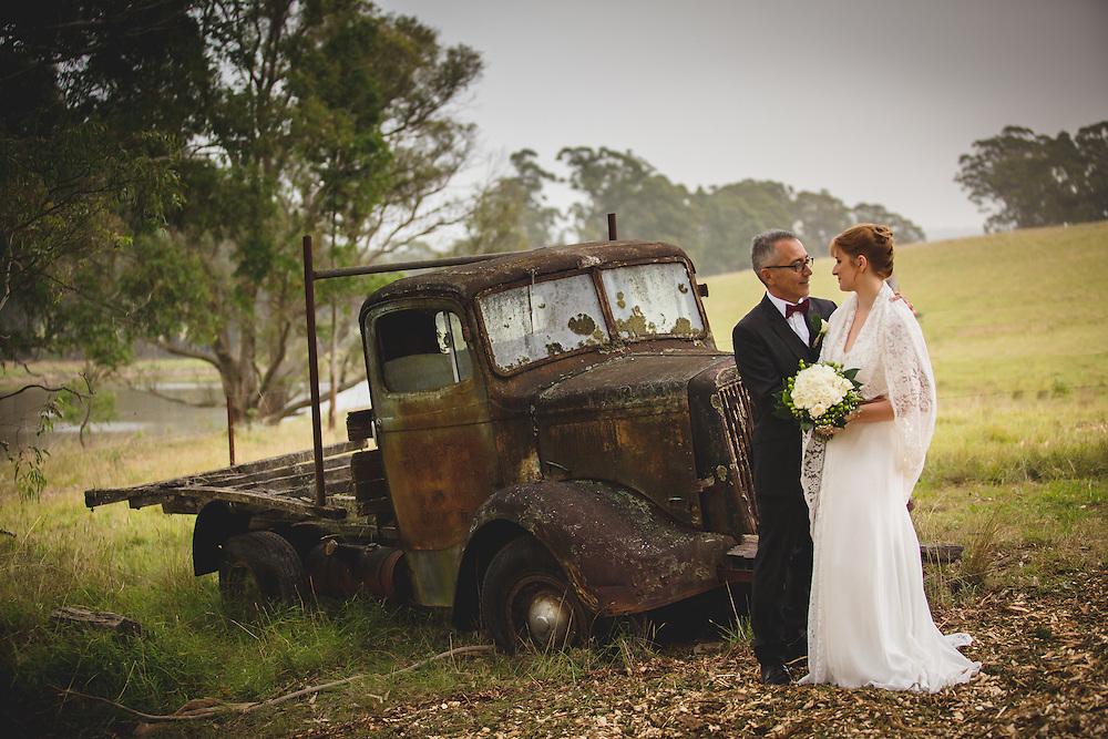Erin and Steven's amazing Mali Brae Wedding