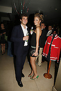 Alessandro Amati and his sister Federica Amati, Stelle d'Italia. Celebration of Italian design, fashion and style hosted by Luca del Bono. The Roof Gardens. Kensington High St. London. 22 September 2006. ONE TIME USE ONLY - DO NOT ARCHIVE  © Copyright Photograph by Dafydd Jones 66 Stockwell Park Rd. London SW9 0DA Tel 020 7733 0108 www.dafjones.com