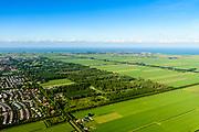 Nederland, Noord-Holland, Purmerend, 13-06-2017; overzicht Polder De Purmer met Purmerbos en Oosterweg.<br /> Polder Purmer.<br /> luchtfoto (toeslag op standaard tarieven);<br /> aerial photo (additional fee required);<br /> copyright foto/photo Siebe Swart