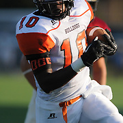 Wallace-Rose Hill Jhonta Wilson rushes against Ashley High School in the first game of the 28th Annual BB&T Football Jamboree Friday August 15, 2014 at Legion Stadium in Wilmington, N.C. (Jason A. Frizzelle)