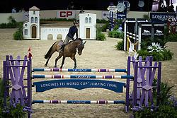 Delaveau Patrice, (FRA), Orient Express <br /> Training session<br /> Longines FEI World Cup™ Jumping Finals <br /> Las Vegas 2015<br />  © Hippo Foto - Dirk Caremans<br /> 15/04/15