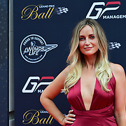 Celebrities arrives at The Grand Prix Ball at Hurington Club, London, UK on July 4th 2018.