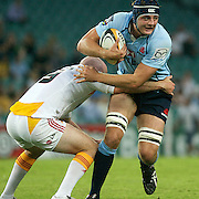 Dean Mumm in action during the Super14 match between the Waratahs and the Chiefs at the Sydney Football Stadium in Sydney, Australia on February 20, 2009. The Waratahs won the match 11-7. Photo Tim Clayton