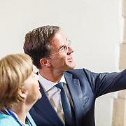 NLD//Middelburg20160421 - Four Freedoms Awards 2016, Duitse bondskanselier Angela Merkel en Mark Rutte