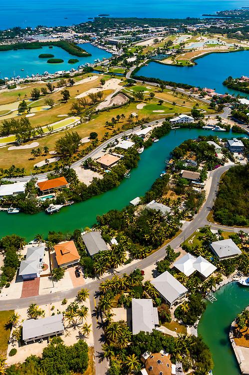 Aerial View, Florida Keys, Florida USA