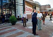 DEN HAAG, 02-09-2021, Gulpener Bierbrouwerij<br /> <br /> Koningin Maxima tijdens een werkbezoek aan Gulpener Bierbrouwerij in de gemeente Gulpen-Wittem. De brouwerij is winnaar van de Plaquette voor Duurzaam Ondernemerschap, een van de Koning Willem I Prijzen FOTO: Brunopress/Patrick van Emst<br /> <br /> Queen Maxima during a working visit to Gulpener Bierbrouwerij in the municipality of Gulpen-Wittem. The brewery is the winner of the Plaque for Sustainable Entrepreneurship, one of the King Willem I Awards