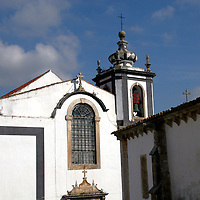 Europe, Portugal, Obidos. Architecture of Obidos.
