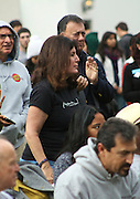 """19 January 2015-Santa Barbara, CA: Janet Wolf, SB County Board of Supervisors.  Santa Barbara Honors Dr. Martin Luther King Jr. with a Day of Celebration.  The Santa Barbara MLK, Jr. Committee chose """"Drum Majors for Justice"""" as it's theme for the day which included a Pre-March Program in De la Guerra Plaza followed by a march up State Street to the Arlington Theater for speakers, music and poetry.  The program concluded with a Community Lunch at the First United Methodist Church in Santa Barbara.  Photo by Rod Rolle"""