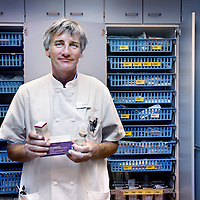 Nederland, Amsterdam , 11 november 2013.<br /> Mark Kramer, ambassadeur patientveiligheid, interne geneeskunde medicatieveiligheid.<br /> Foto:Jean-Pierre Jans