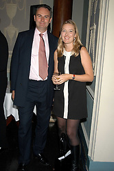 WILLIAM CASH and DAISY PRINCE at a party hosted by Tatler magazine to celebrate the publication of Lunar park by Bret Easton Ellis held at Home House, 20 Portman Square, London W1 on 5th October 2005.<br /><br />NON EXCLUSIVE - WORLD RIGHTS