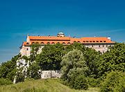 Opactwo benedyktynów w Tyńcu wraz z kościołem św. Piotra i św. Pawła - najstarszy z istniejących klasztorów w Polsce.