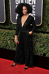 Susan Kelechi Watson at the 75th Golden Globe Awards held at the Beverly Hilton in Beverly Hills, CA on January 7, 2018.<br /><br />(Photo by Sthanlee Mirador)