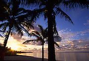 Sunset, Rarotonga, Cook Islands<br />