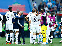 Didier Deschamps (France) celebrate with his players<br /> Nizhny Novgorod 06-07-2018 Football FIFA World Cup Russia  2018 Uruguay - France / Uruguay - Francia <br /> Foto Matteo Ciambelli/Insidefoto