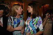 Alice Sykes and Plum Sykes, Plum Sykes, book launch party, Annabel's, Berkeley Square, London, W1,10 May 2006.  Matthew Williamson, Catherine Vautrin, Laudomia Pucci host party to celebrate 'The Debutante Divorcee'. ONE TIME USE ONLY - DO NOT ARCHIVE  © Copyright Photograph by Dafydd Jones 66 Stockwell Park Rd. London SW9 0DA Tel 020 7733 0108 www.dafjones.com