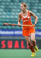 DEN HAAG - Carlien Dirkse van den Heuvel  Nederland speelt oefenwedstrijd tegen USA in het Kyocera Stadion. COPYRIGHT KOEN SUYK