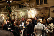 Reception after Christmas Carol Service in aid of the Haven, Breast Cancer Support Centres. St. Paul's, Knightsbridge. London. 9 December 2010.  -DO NOT ARCHIVE-© Copyright Photograph by Dafydd Jones. 248 Clapham Rd. London SW9 0PZ. Tel 0207 820 0771. www.dafjones.com.