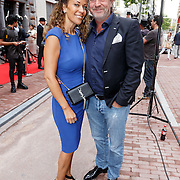 NLD/Amsterdam/20150625 - Opening the Dutchess Amsterdam, Advocaat Mark Teurlings en partner Yvette