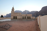 Mosque in Rum village, Wadi Rum, Jordan
