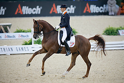 Minderhoud Hans Peter (NED) - Exquis Nadine third place in the provisional standings<br /> Alltech FEI World Equestrian Games <br /> Lexington - Kentucky 2010<br /> © Dirk Caremans