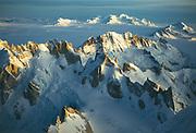 Patagonian icecap from summit FitzRoy, winter 1993 Photo: Gottlieb Braun-Elwert
