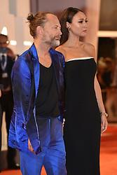 Premiere of the film 'Suspiria' during the 75th Venice Film Festival. 01 Sep 2018 Pictured: Thom Yorke, Dajana Roncione. Photo credit: M. Angeles Salvador/MEGA TheMegaAgency.com +1 888 505 6342