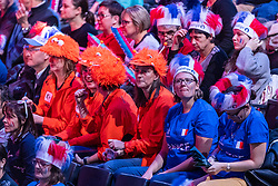 14-12-2018 FRA: Women European Handball Championships France - Netherlands, Paris<br /> Second semi final France - Netherlands / Dutch support