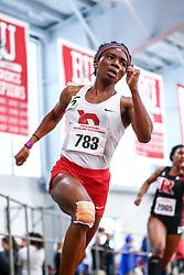 womens 200, heat 3, Leger, Saint-Laurent<br /> David Hemery Valentine Invitational<br /> Indoor Track & Field at Boston University