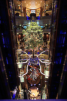 Celebrity Reflection departs on its preview sailing out of The Netherlands before beginning its European inaugural sailing on 12th October 2012 from Amsterdam..The tree.