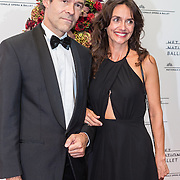 NLD/Amsterdam/20160907 - Inloop Gala van het Nationale Ballet 2016, Joram Lursen en Eva Henneman