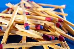 Strike anywhere wooden match sticks