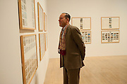 RICHARD DYER, Susan Hiller opening, Tate Britain. 31 January 2010. -DO NOT ARCHIVE-© Copyright Photograph by Dafydd Jones. 248 Clapham Rd. London SW9 0PZ. Tel 0207 820 0771. www.dafjones.com.