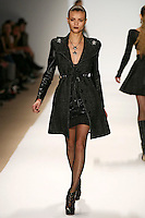 Lais Oliveira wearing the Charlotte Ronson Fall 2009 Collection