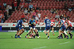 Lions vs Blues during a Super Rugby match at the Emirates Airlines Park Stadium, Ellis Park, Johannesburg, South Africa. Picture: Karen Sandison/African News Agency (ANA)