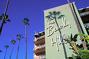 The Beverly Hills Hotel, Sunset Blvd., Beverly Hills, Los Angeles, California (LA)