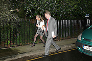 SIR CHRISTOPHER AND LADY MEYER, Sir David and Lady Carina Frost annual summer party, Carlyle Sq. London. 5 July 2007  -DO NOT ARCHIVE-© Copyright Photograph by Dafydd Jones. 248 Clapham Rd. London SW9 0PZ. Tel 0207 820 0771. www.dafjones.com.