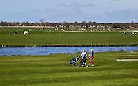 ALKMAA - Golfbaan Sluispolder, hole 5  FOTO KOEN SUYK